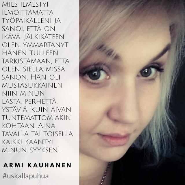 Armi: Minun tarinani, kasvoillani ja nimelläni